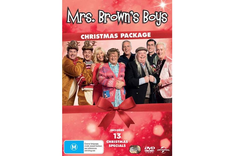 Mrs Browns Boys Christmas Package Box Set DVD Region 4
