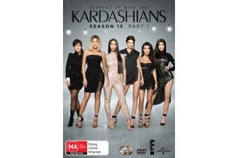 Keeping Up With the Kardashians Season 15 Part 1 Box Set DVD Region 4