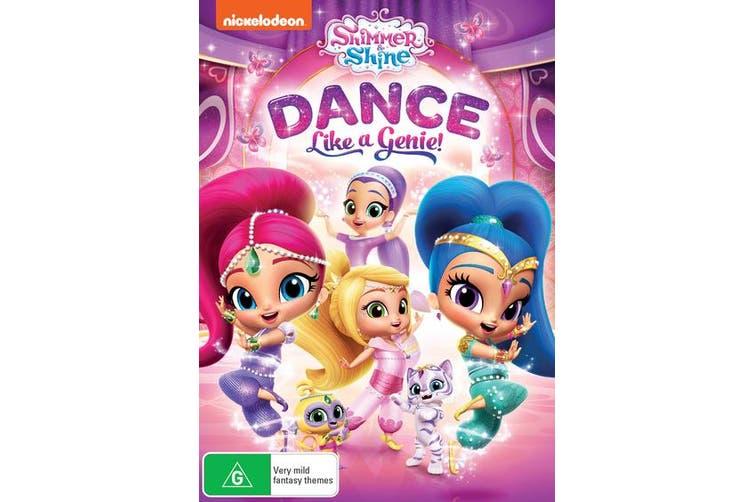 Shimmer and Shine Dance Like a Genie DVD Region 4