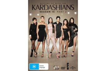 Keeping Up With the Kardashians Season 15 Part 2 DVD Region 4