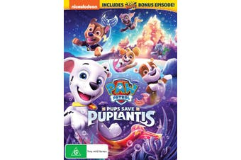 Paw Patrol Pups Save Puplantis DVD Region 4