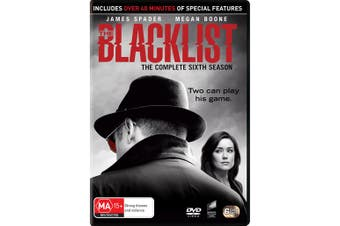 The Blacklist The Complete Sixth Season 6 Box Set DVD Region 4