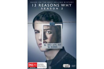 13 Reasons Why Season 2 DVD Region 4