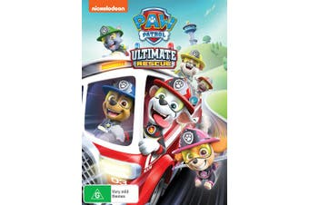 Paw Patrol Ultimate Rescue DVD Region 4