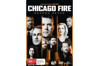 Chicago Fire Season 7 Box Set DVD Region 4