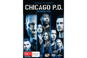 Chicago PD Season 6 Box Set DVD Region 4