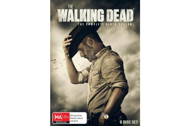 The Walking Dead The Complete Ninth Season Box Set DVD Region 4