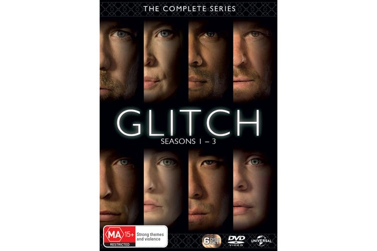 Glitch Seasons 1-3 Box Set DVD Region 4