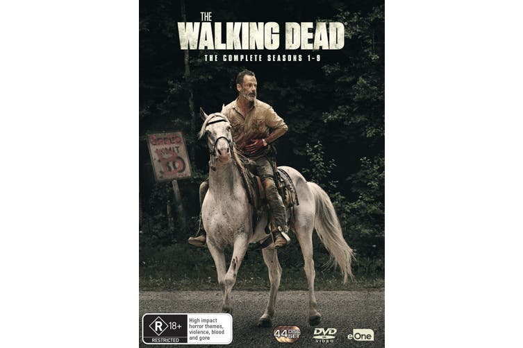 The Walking Dead The Complete Seasons 1-9 Box Set DVD Region 4