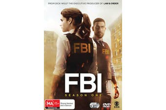 FBI Season 1 Box Set DVD Region 4