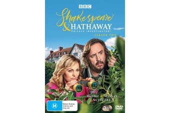 Shakespeare & Hathaway Private Investigators Series 2 DVD Region 4