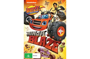 Blaze and the Monster Machines Ninja Blaze DVD Region 4