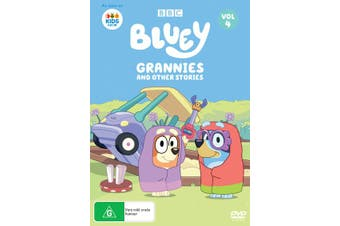 Bluey Volume 4 Grannies and Other Stories DVD Region 4