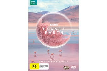 Planet Earth II DVD Region 4