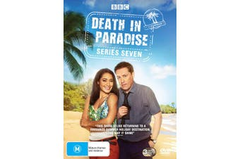 Death in Paradise Series 7 Box Set DVD Region 4
