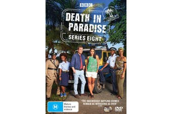 Death in Paradise Series 8 Box Set DVD Region 4