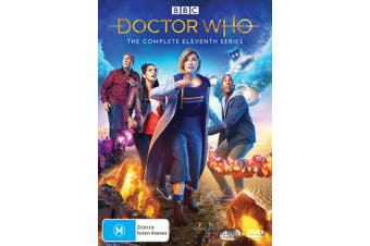 Doctor Who The Complete Eleventh Series 11 Box Set DVD Region 4