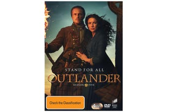 Outlander Season 5 Box Set DVD Region 4