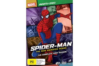 Spider Man The New Animated Series The Complete First Season 1 DVD Region 4
