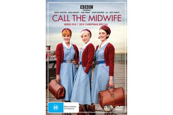 Call the Midwife Series 5 Box Set DVD Region 4