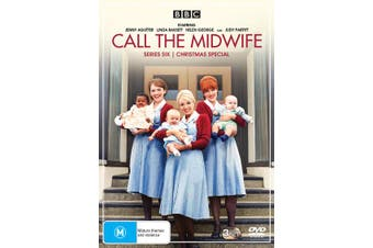 Call the Midwife Series 6 Box Set DVD Region 4