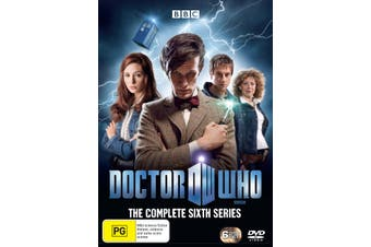 Doctor Who The Complete Sixth Series 6 Box Set DVD Region 4