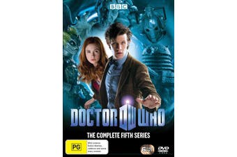 Doctor Who The Complete Fifth Series 5 Box Set DVD Region 4