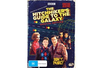 The Hitchhikers Guide to the Galaxy The Complete Series Box Set DVD Region 4