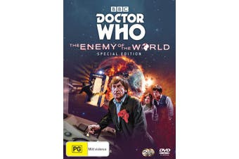 Doctor Who The Enemy of the World 1-3 Special Edition DVD Region 4