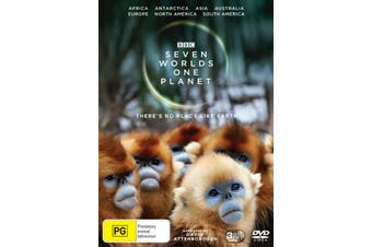 Seven Worlds One Planet Box Set DVD Region 4