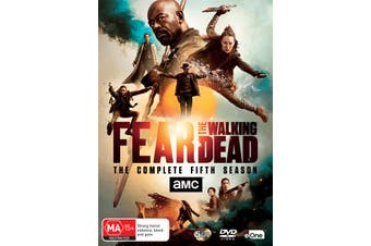 Fear the Walking Dead The Complete Fifth Season 5 Box Set DVD Region 4