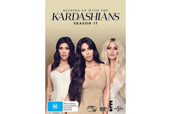 Keeping Up With the Kardashians Season 17 Box Set DVD Region 4