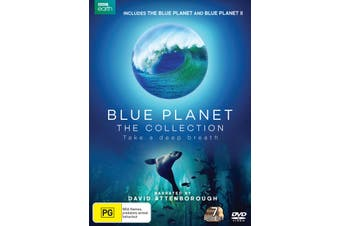 Blue Planet The Collection Box Set DVD Region 4
