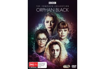 Orphan Black The Complete Collection Box Set DVD Region 4