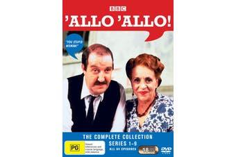 Allo Allo The Complete Series 1-9 Box Set DVD Region 4