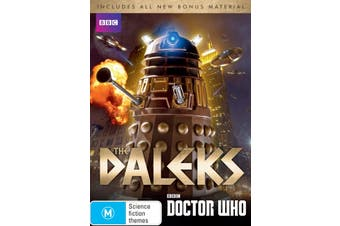 Doctor Who Genesis of the Daleks Box Set DVD Region 4