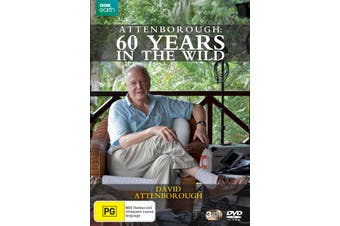 Attenborough Sixty Years in the Wild Box Set DVD Region 4