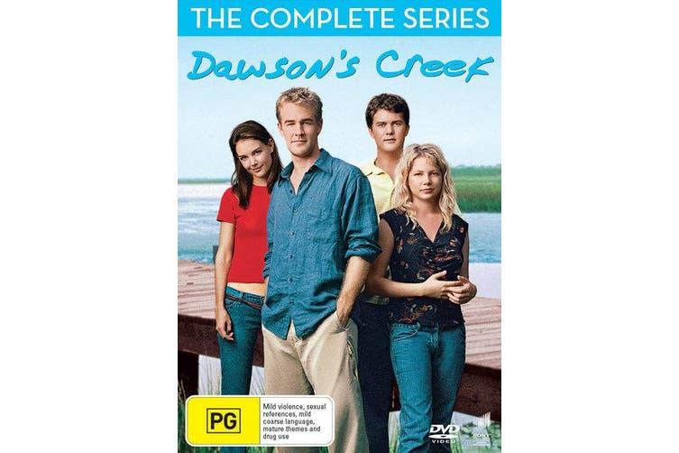 Dawsons Creek Complete Seasons 1-6 DVD Region 4