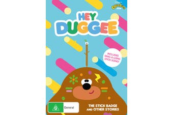 Hey Duggee The Stick Badge & Other Stories DVD Region 4