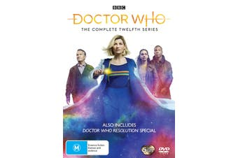 Doctor Who The Complete Twelfth Series 12 Box Set DVD Region 4