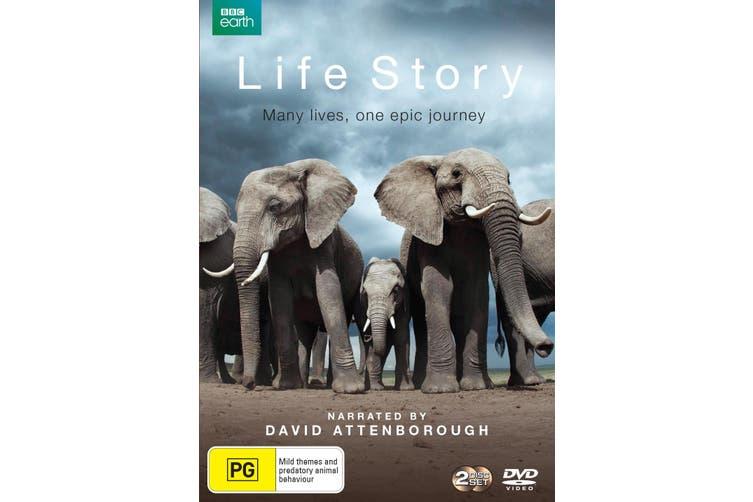 David Attenborough Life Story DVD Region 4