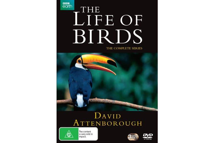 David Attenborough The Life of Birds The Complete Series Box Set DVD Region 4