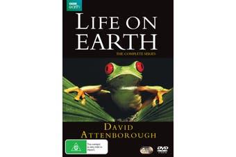David Attenborough Life On Earth The Complete Series Box Set DVD Region 4