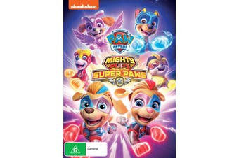 Paw Patrol Mighty Pups Super Paws DVD Region 4