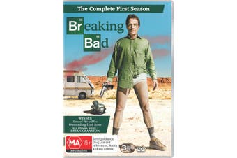 Breaking Bad Season 1 DVD Region 4