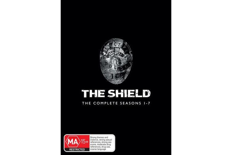 The Shield The Complete Seasons 1-7 DVD Region 4
