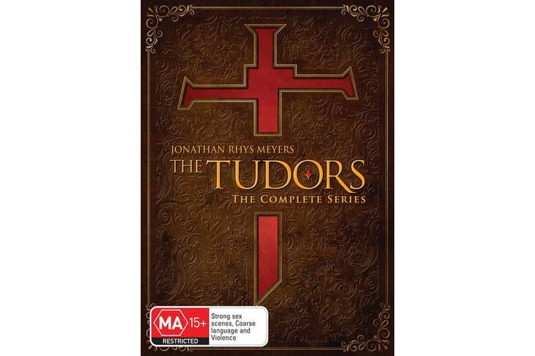 The Tudors The Complete Series DVD Region 4