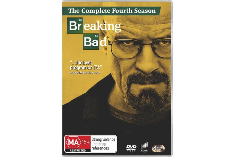 Breaking Bad Season 4 DVD Region 4