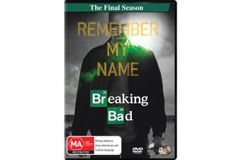Breaking Bad Season 5 Part 2 the Final Season DVD Region 4