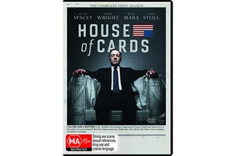 House of Cards The Complete First Season 1 DVD Region 4